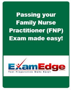 Are you ready to advance your career and become a Family Nurse Practitioner (FNP)?  At http://www.familynpprep.com we have just one goal: to help you prepare for the Family Nurse Practitioner exam.  Use promo code SAVE-PINST to save 10% our your practice exams. #NursePractitioner