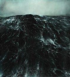 ~ Thierry de Cordier (b. 1954), Mer grosse (Heavy sea), 2011