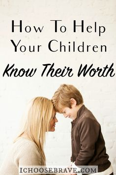 The world will quickly tell your children who they are, so how do we as parents help them truly know their worth? Simple ways to speak life to your children