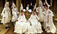 "Costumes from the 1982 Film ""The Draughtsman's Contract"", set in 1694 England"