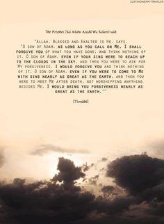 Allah's Great Forgiveness