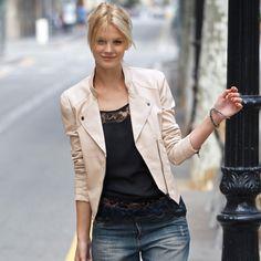 Veste cuir femme 3 suisses