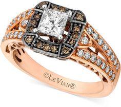 chocolate diamond rings - Chocolate Wedding Ring