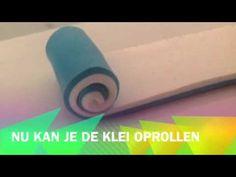 ▶ Spiraal cane maken van Fimo klei - YouTube