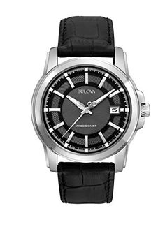 Shop a great selection of Bulova Men's Precisionist Leather Strap Watch. Find new offer and Similar products for Bulova Men's Precisionist Leather Strap Watch. Bulova Mens Watches, Mens Watches Leather, Cool Watches, Watches For Men, Fine Watches, Women's Watches, Wrist Watches, Sport Watches, Peoples Jewellers