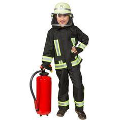 Kostüm Feuerwehrmann für Kinder, gesehen bei karneval-feuerwerk.de