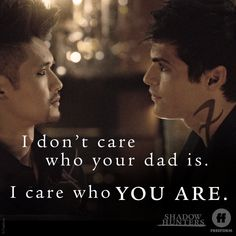 Malec moment ❤❤❤ I love this couple #Malec