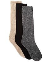 Hue Cowgirl Marl Boot Socks LOOOOOOOVE GRAY SPECKLED AND OFF WHITE