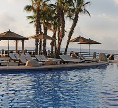 Los Cabos, Mexico - the Melia Cabo Real.  I think I just found my spot for getting some sun!