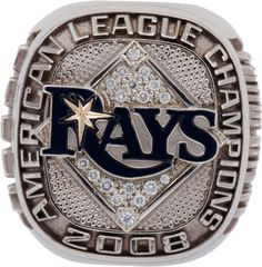 2008 Tampa Bay Rays American League Championship Ring, we need al champion ring 2013, and a World Series 2013 ring !!!!!