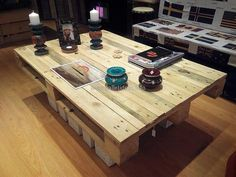 The table is a necessary furniture piece and it can be created at home with this idea because it is simple. The design is not much complicated, but the design looks awesome when it is placed with other amazing furniture pieces placed around it.