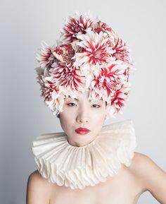 Botanical Headdresses by Takaya-4