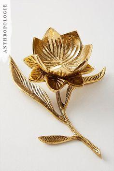 Botanical Trinket Dish | Shop Anthropologie holiday gifts