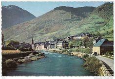 5076 - PIRINEROS DE LERIDA EL VALLE DE ARAN el Rio Garona a su paso pr Bosost