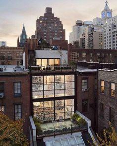 Gramercy Park Townhouse by Fractal Construction Location: Gramercy Park, #NewYork, #USA  #architecture #luxury #interiordesign #caandesign #modern #home