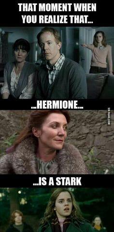 Hermione is a Stark