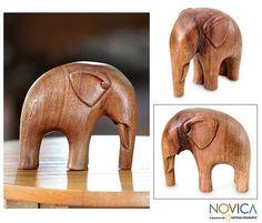 Shop for Handmade Suar Wood 'Modern Elephant' Sculpture (Indonesia). Elephant Sculpture, Tree Sculpture, Modern Sculpture, Animal Sculptures, Wood Carving Designs, Wood Carving Patterns, Wood Carving Art, Wood Carvings, Woodworking Art Ideas
