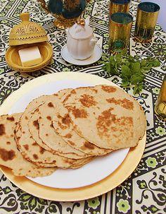 Morrocan Mofleta - Pan Baked Flat Bread