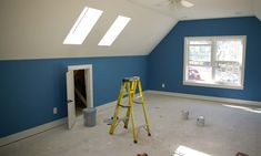 How To Utilize Knee Wall Space In Above Garage Room