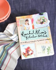 The newest cookbook from @rachelkhoo