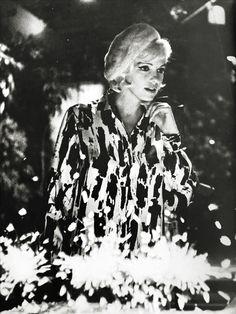 Marilyn Monroe on her birthday, 1962