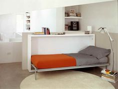 Folding Bed Desk With Decorative Lighting