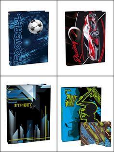 Boxes for school notebooks/ Boxy na sešity
