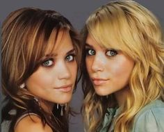 marykate and ashley. I can't believe they are 26 now. I feel like I was just watching episodes of Full House on vhs, Plus didn't they used to solve any crime by dinner time??? <3