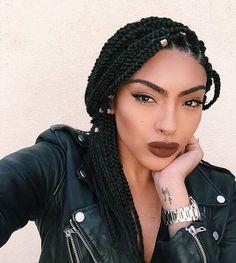 70 Exquisite Box Braids Hairstyles