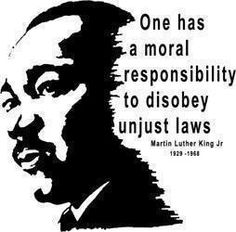 Martin Luther King Jr on unjust laws Thomas Jefferson, Martin Luther King, Moral Responsibility, Civil Disobedience, Secret To Success, We Are The World, King Jr, Morals, Famous Quotes