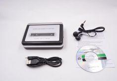 2015 MP3 cassette capture to MP3 USB Cassette Capture Tape to PC Super Cassette to MP3 Converter Cassette-to-MP3 Capture EZ218