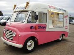 Image result for ice cream vans 1970s