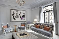 The St. Regis New York Dior Suite. The art.