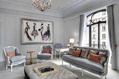 The St. Regis New York Dior Suite. The art.
