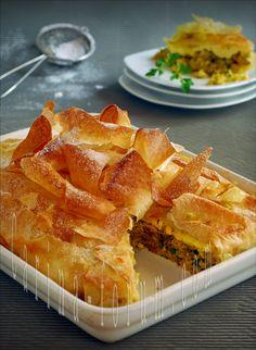 Morrocan-Style Chicken Pie (B'stilla)