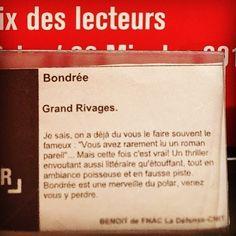 Bondrée de Andrée A. Michaud  @editionsrivages  Coup de coeur Fnac La Défense @benoitminville @fnac_officiel  #lespetitsmotsdeslibraires #libraires #coupdecoeurlitteraire #polar