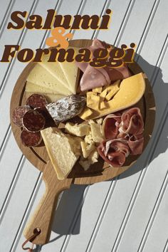 We're not entirely sure how dry-cured meats and cheeses became such a quintessential pairing. But the resulting taste is undeniable. Genoa Salami, Italian Deli, Cheese Pairings, String Cheese, Meat And Cheese, Taste Buds, Gourmet Recipes, Food, Essen