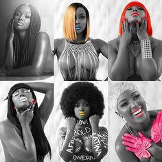 Afro Latina x Amara La Negra Beauty pics! Beautiful Dark Skinned Women, My Black Is Beautiful, Black Women Art, Black Girls, Dark Skin Beauty, Hair Beauty, Anastasia, Ebony Models, Brazilian Women