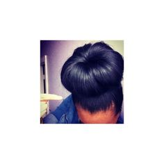 .@anayal8ter | My buns are done by ya girl featuring polyvore beauty products haircare hair styling tools hair hairstyles
