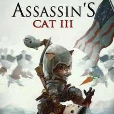 Assassin's Cat III   #AssassinsCreed #ubisoft #gaming #instagaming #fanart #videogames
