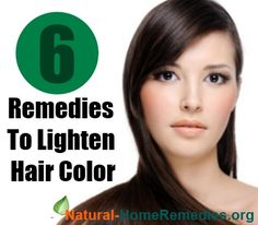 6 Home Remedies To Lighten Hair Color
