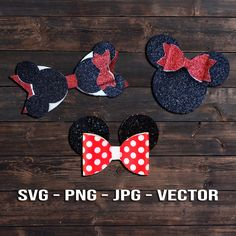Mouse Ears SVG Collection Bundle - Hair Clip Template Vector - Faux Leather svg/png/Dxf/Jpeg for Cricut, Brother, Silhouette DIY Crafts Ribbon Flower Tutorial, Hair Bow Tutorial, Fabric Bow Tutorial, Headband Tutorial, Diy Bow, Diy Ribbon, Ribbon Rose, Ribbon Hair, Fabric Bows
