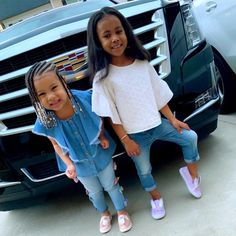 Cute Mixed Babies, Cute Black Babies, Adorable Babies, Cute Baby Girl, Cute Girls, Cute Girl Outfits, Toddler Girl Outfits, Swag Outfits, Sibling Pics
