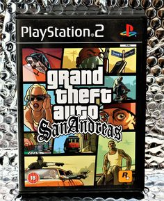 PLAYSTATION 2 GRAND THEFT AUTO SANANDREAS GAME PS2 GAMING