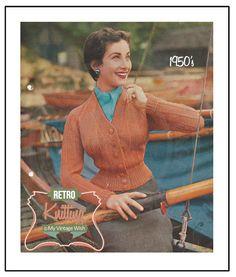 Hey, j'ai trouvé ce super article sur Etsy, chez https://www.etsy.com/fr/listing/206380327/1950s-cardigan-vintage-knitting-pattern