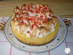 Coisas simples são a receita ...: Tarte de pudim flan e maçã assada
