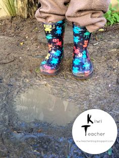 Kiwi Teacher: Theories about puddles...