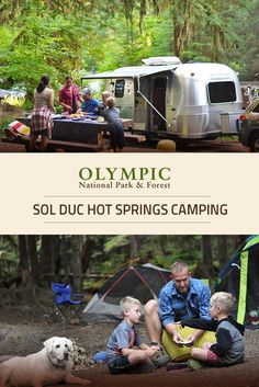 Sol Duc Hot Springs RV Park Offers 17 Campsites And Is Located In A Peaceful