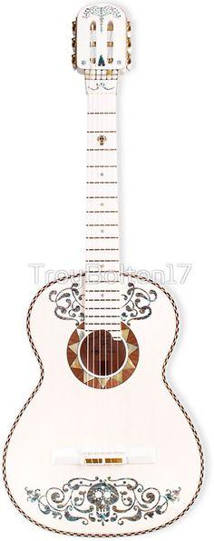 'Guitar ~ Coco' Sticker by Coco Disney, Disney Pixar, Birthday Decorations, Halloween Decorations, 2 Birthday, Day Of The Dead Party, Scary Halloween, Halloween Ideas, Instruments