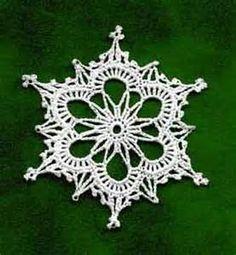 free crochet snowflakes patterns - Bing Obrázky